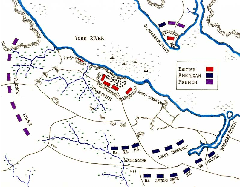 Battle Of Saratoga Map